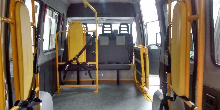 transporte de passageiros - mobilidade reduzida