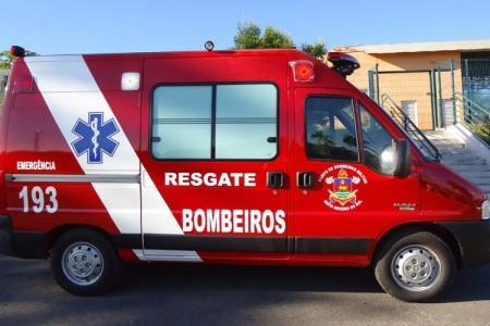 Ambulância UTI resgate - projeto para o corpo de bombeiros do Mato Grosso do Sul