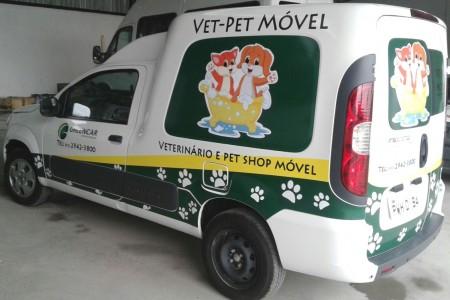 Greencar Veículos Especiais - Transformação de vans em Pet Shop