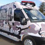 Transformação de Van em Viatura para transporte de cães