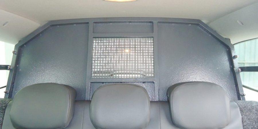 Transformação Veículo Especial - Viatura Policial - vista interna