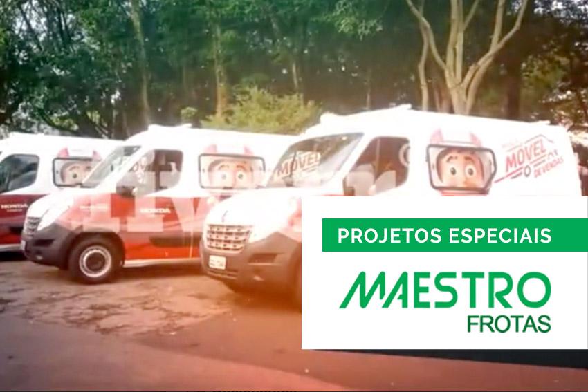 Greencar Maestro Frotas projeto de unidade móvel